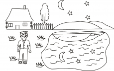 Grześ i księżycowe jeziorko