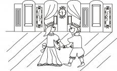 Królewna tańczy z królewiczem