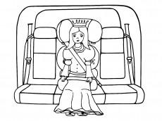 Królewna jedzie na bal w foteliku