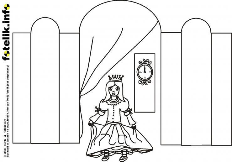 Królewna opuszcza salę balową
