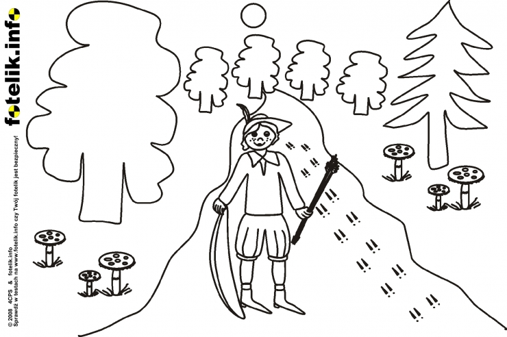 Leśniczy wytropił ślady zwierzyny